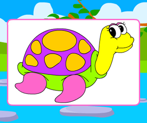 Happy Turtles Coloring thumbnail