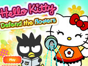 Thumbnail of Hello Kitty Defend The Flowers