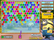 Thumbnail of Minions Bubble Hit
