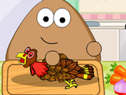 Thumbnail of Pou Thanksgiving Day Slacking
