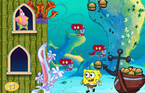 Thumbnail of Spongebob Hamburger Love