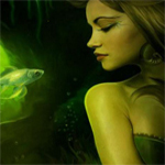 Green Mermaid Hidden Stars thumbnail