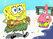 Thumbnail of SpongeBob at Beach Jigsaw