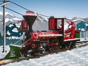 Thumbnail of Santa Steam Train Delivery