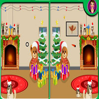 Thumbnail of Christmas Spot Differences
