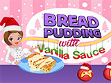 Bread Pudding with Vanilla Sauce thumbnail