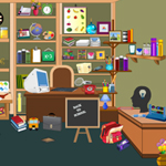 Thumbnail of Study Room Hidden Objects
