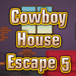 Thumbnail of Cowboy House Escape 5