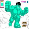 Color The Hulk Game thumbnail