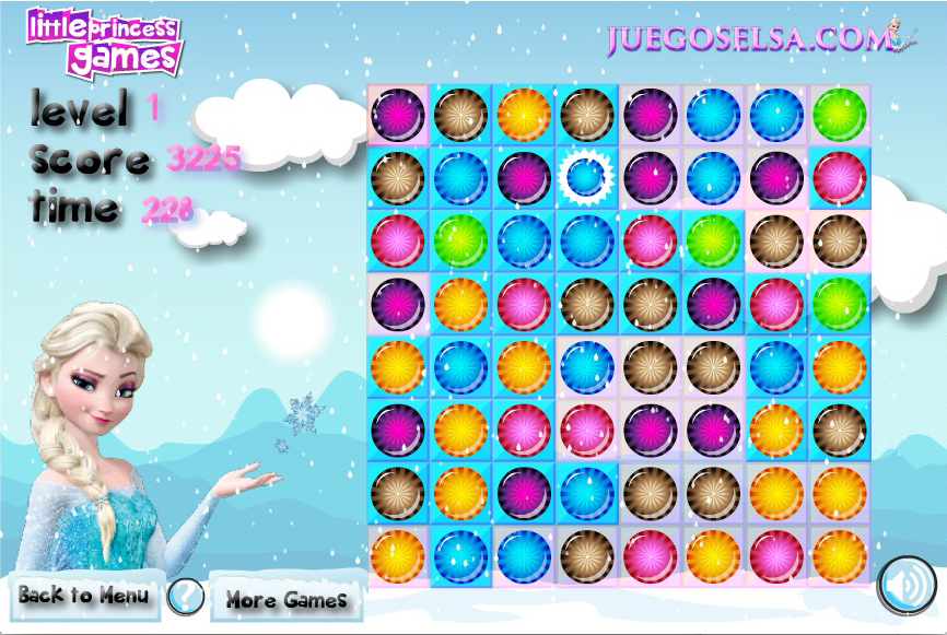 Thumbnail of Princess Elsa Candy Match