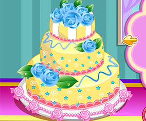 Thumbnail for Rose wedding cake 3