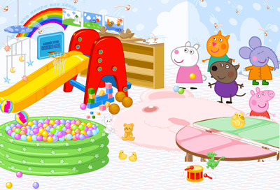 Thumbnail for Peppa Pig Playroom Decoration
