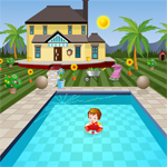 Thumbnail for Swimming Pool House Escape 2