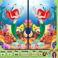 Thumbnail of Princess Ariel - Spot the Difference