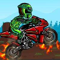 Thumbnail for Biker Burnout Game