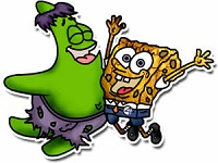 SH SpongeBob and Patrick Puzzle thumbnail