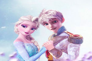 Thumbnail of Elsa and Jack Frost Tetris