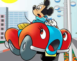 Mickey Car Puzzle thumbnail