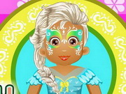 Thumbnail of Baby Daisy Face Painting