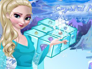 Thumbnail of Frozen Elsa Crystal Match