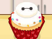 Thumbnail of Cute Baymax Cupcake