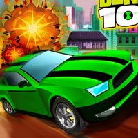 Ben 10 Bolt Car Game thumbnail