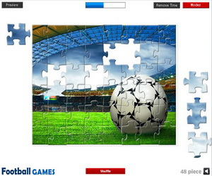 Thumbnail for Soccer Stadium Jigsaw