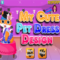 Thumbnail of My Cute Pet Dress Design