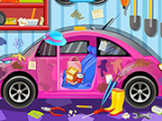 Clean my new pink car 3 thumbnail