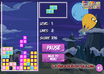 Thumbnail of Adventure Time Tetris