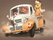 Apple Truck Jigsaw thumbnail