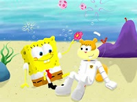 SpongeBob and Sandy Puzzle thumbnail