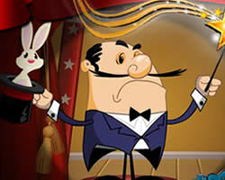 Thumbnail for Moustachini The Rabbit Show Man