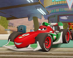Francesco Cars Puzzle thumbnail