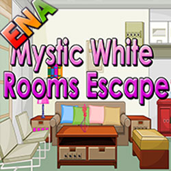Thumbnail of Mystic White Room Escape