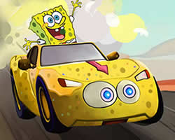 Thumbnail for SpongeBob Car Puzzle