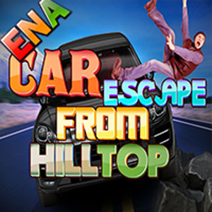 Thumbnail of Car Escape From Hilltop