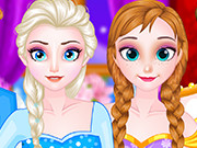 Thumbnail of Elsa and Anna Double Date