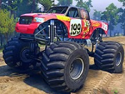 Thumbnail of Ford Monster Truck Jigsaw