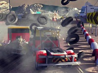 Thumbnail of Racing Trucks Jigsaw