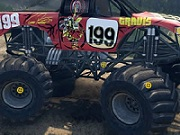 Thumbnail of Rubber Tire Truck Hidden Tires