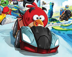 Thumbnail of Angry Birds Racing Puzzle