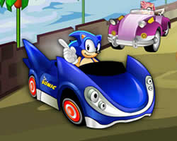 Thumbnail of Sonic Race Puzzle