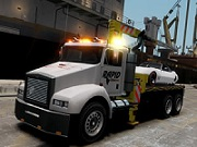 Towing Truck Jigsaw thumbnail