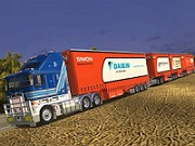 Road Train Truck JIgsaw thumbnail
