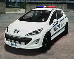 Thumbnail for Peugeot Police Puzzle