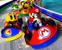 Thumbnail of Mario Racing Puzzle