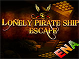 Thumbnail of Lonely pirate ship escape