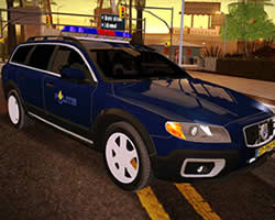 Volvo Police Puzzle thumbnail