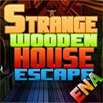 Thumbnail of Strange wooden house escape